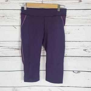 Purple Oiselle workout leggings size small